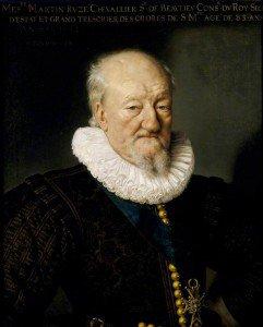 Frans Pourbus the Younger - Martin Ruzé, Seigneur de Beaulieu, Aged 83