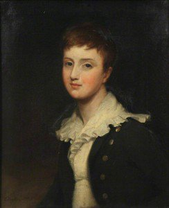 George Hayter - Lord Richard Cavendish as a Boy