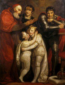 James Northcote - The Meeting of Edward V and His brother Richard, Duke of York, Contemplated by Richard III