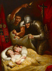 James Northcote - The Murder of the Princes in the Tower