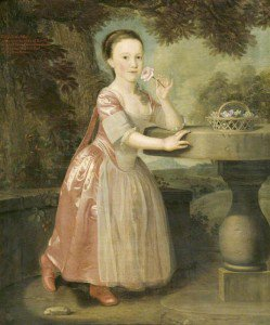Thomas Hickey - Eliza Durbin, Lady Elton, as a Child